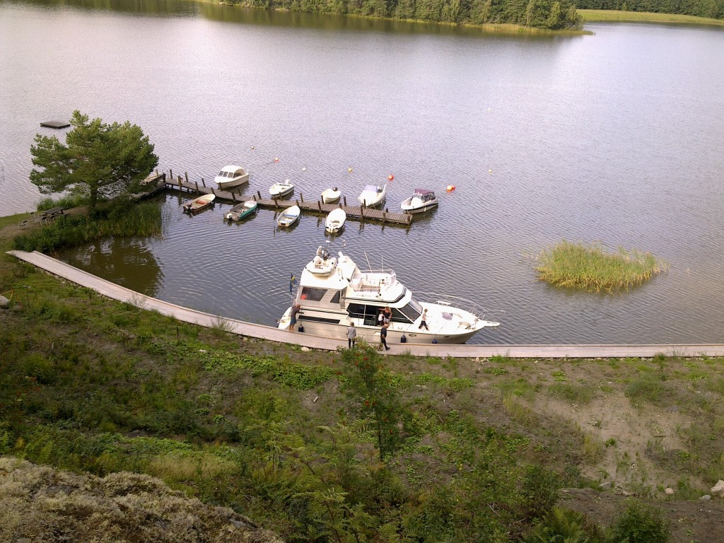 Båtbesök